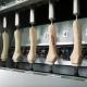 Dettaglio macchina per la tornitura di appendiabiti SF6 HGR