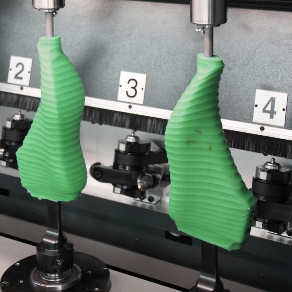 Macchina sgrossatrice di forme per calzature SG4 HS