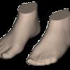 Piedi 3D ottenuti con RS-EasyFit