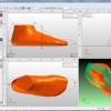 Easylast 3D Cad/cam - schermata di modifica di una forma per calzatura in base al piede