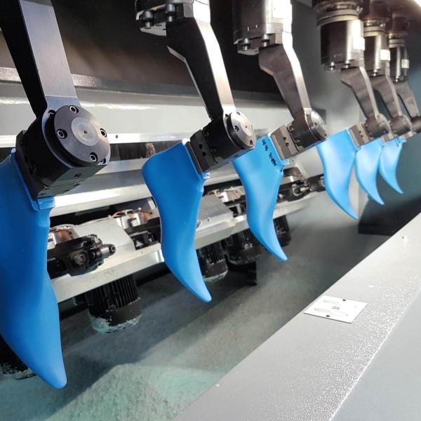 Macchina per la finitura delle forme per calzature SDF6 HS
