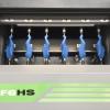 Dettaglio macchina lavorazione forma SF6 HS