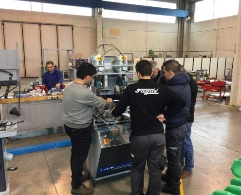 Macchine ausiliarie Newlast - fagus Ecco