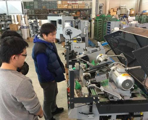 Macchine ausiliarie Newlast - Jianfa
