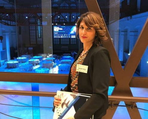 Valeria Carlone al Premio Industria Felix