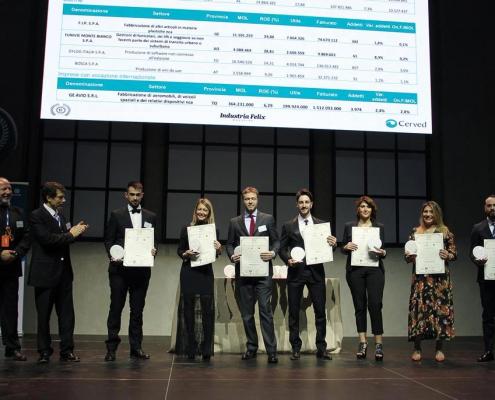 Premiazione di Newlast all'Industria Felix 2019
