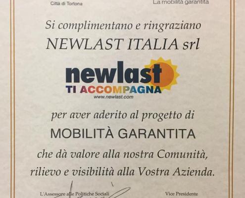 Certificato Newlast ti accompagna