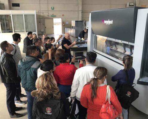 Presentazione della tecnologia SDF alla delegazione Colombiana