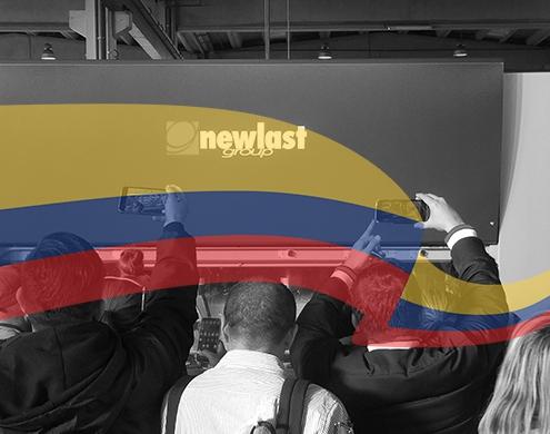 Delegacion Colombiana en visita de Newlast