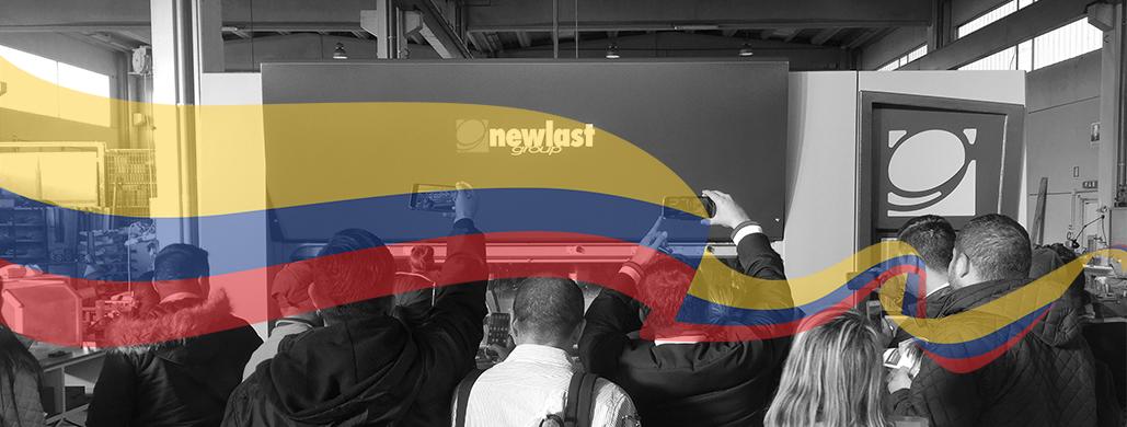 Delegazione Colombiana in visita a Newlast