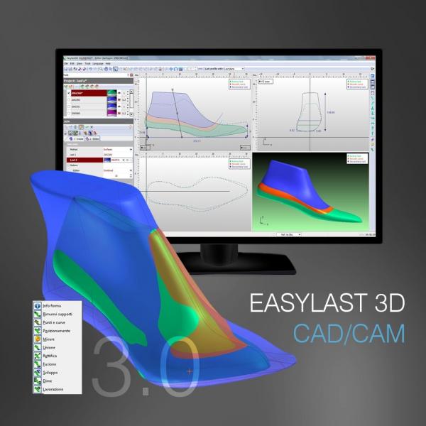 Newlast Easylast 3D Cad/cam - immagine di copertina