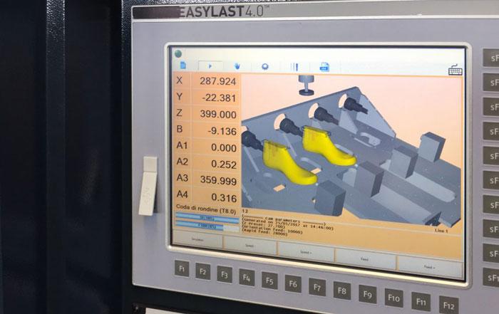Tecnologia Easylast 4.0 per la produzione di forme