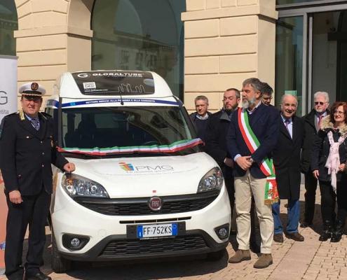 Inaugurazione Fiat Doblò con Sponsor Newlast