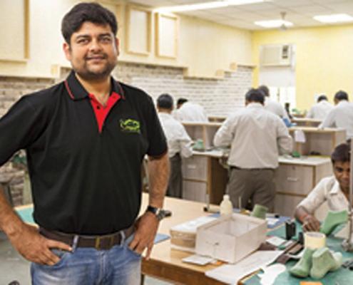 Mayank Agarwal - Direttore del formificio Rupmaya - India