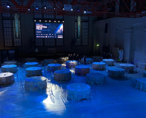 Sala congressi del Premio industria Felix