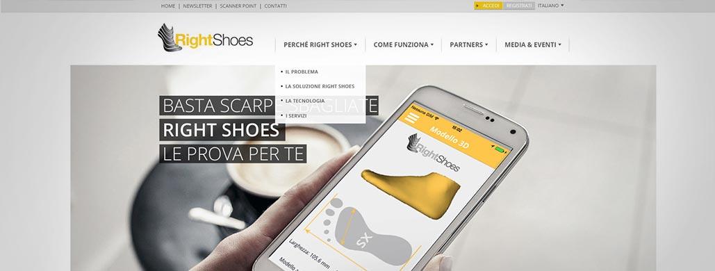 Right Shoes è online