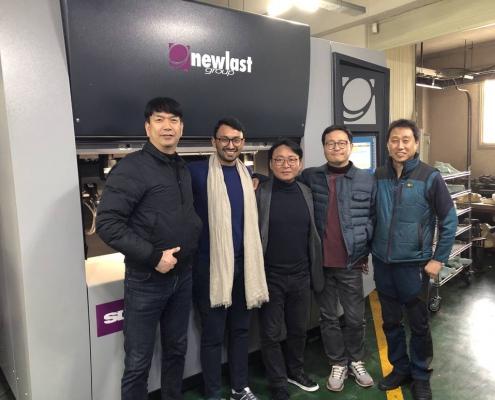 Team del formificio Daehan
