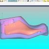 Schermata del Software Setupmodel Module - Scelta del blocco da tornire