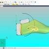 Schermata del Software Hinge Drilling Module - Posizionamento dello snodo e dei supporti