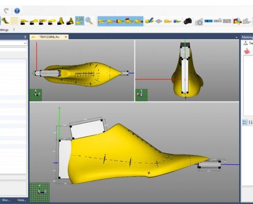 Schermata del Software Setupmodel Module - Aggiunta dei supporti