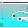Schermata del Software Hinge Drilling Module - Simulazione virtuale dello snodo