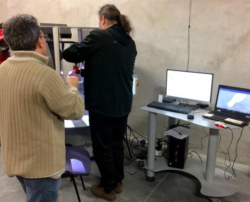 Macchine per la lavorazione della forma e digitalizzatore - Beta Suelas