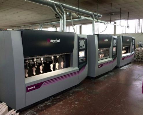Macchine Newlast con tecnologia SDF presso ifaba