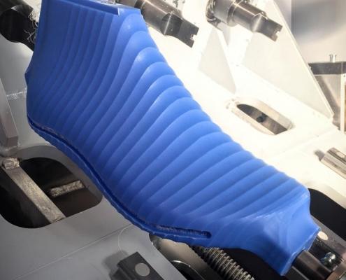 Forma con scanalatura per bumper - Tecnologia S.L.I.M. 4.0
