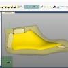 Schermata del Software Setupmodel Module - Posizionamento del modello nel blocco