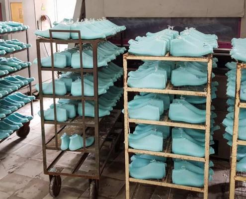 Produzione di forme per calzature - Formificio THL