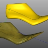 Copia della texture di una forma digitalizzata