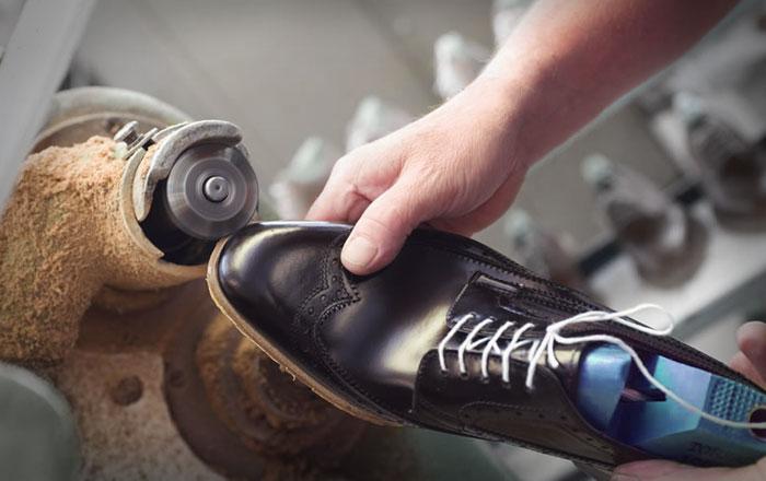Shoe factory - shoe production