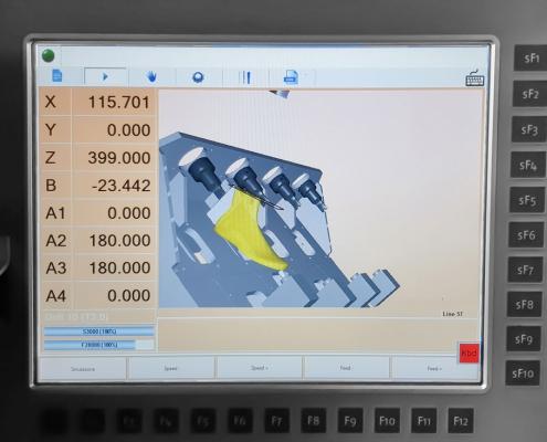 Schermata del Software S.L.I.M. 4.0 su SDMC4
