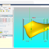 Schermata del Software Automation Module - Sezionamento FRV automatico della forma