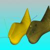 Schermata del Software Marking Module - Creazione delle linee di stile