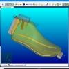 Schermata del Software Automation Module - Inserimento dei supporti e dei fori sulla forma