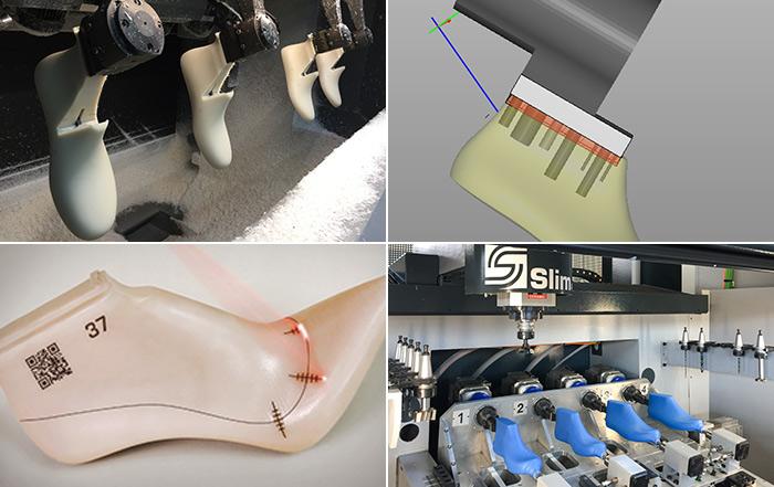 Tecnologia S.L.I.M. 4.0 - gestione integrata delle operazioni per la produzione di forme per calzature