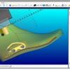 Schermata del Software Automation Module - Preparazione per la lavorazione automatica della forma