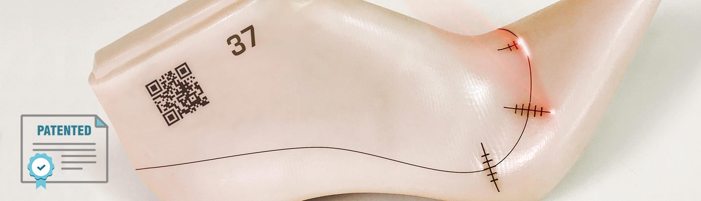 Shoe last laser marking - Newlast patent